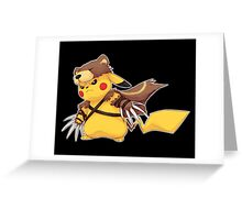 Pikachu Udyr Greeting Card