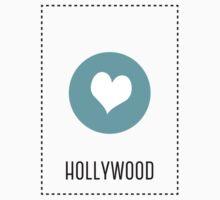 I Love Hollywood One Piece - Short Sleeve