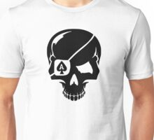 Poker skull ace Unisex T-Shirt
