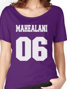 Mahaelani Number 06 Women's Relaxed Fit T-Shirt