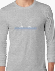 White Whales Long Sleeve T-Shirt