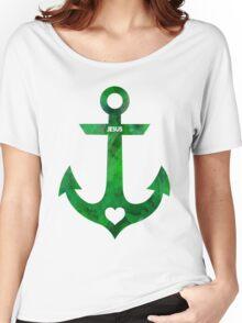 Christian Anchor Women's Relaxed Fit T-Shirt