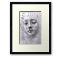 Woman On Vase Framed Print