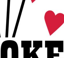 Poker queen Sticker
