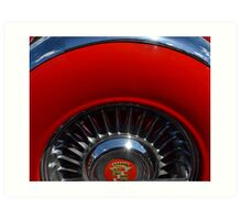 1955 Cadillac Eldorado Continental Kit Art Print