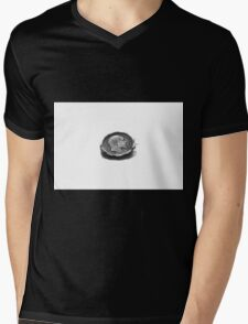 Old two shilling coin Mens V-Neck T-Shirt