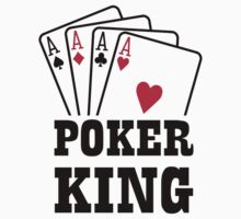 Poker king cards Kids Tee