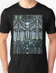 Tarot 2.- The Priestess Unisex T-Shirt