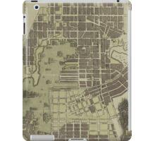 Vintage Map of Baltimore Maryland (1805) iPad Case/Skin