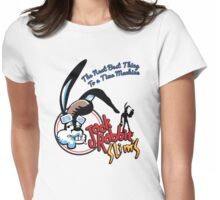 Jack Rabbit Slim's - Side Silhouette Variant  Womens Fitted T-Shirt