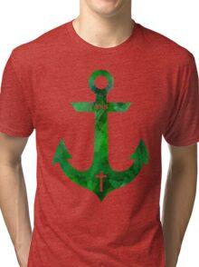 Christian Anchor Tri-blend T-Shirt