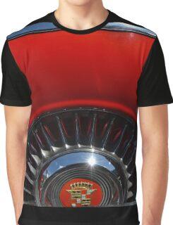 1955 Cadillac Eldorado Continental Kit Graphic T-Shirt