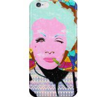 Marlene Dietrich iPhone Case/Skin