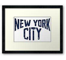 Vintage New York City Framed Print