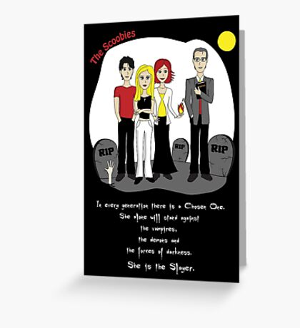 The Scoobies Greeting Card