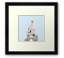 Disney Castle Framed Print