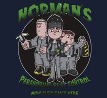 Norman's Paranormal pest control. Kids Clothes