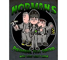 Norman's Paranormal pest control. Photographic Print