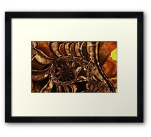 Time Traces Framed Print