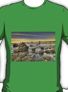Sunset Pier. T-Shirt