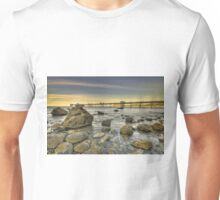 Sunset Pier. Unisex T-Shirt