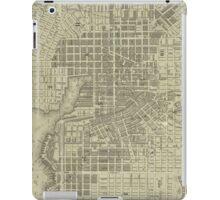 Vintage Map of Baltimore Maryland (1832) iPad Case/Skin