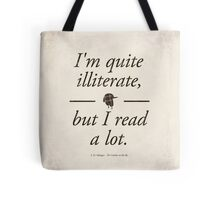 J. D. Salinger's The Catcher in the Rye - Literary Quote, Book lovers gift, modern home decor Tote Bag