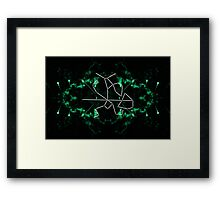 warrior constellation  Framed Print