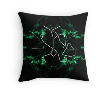 warrior constellation  Throw Pillow