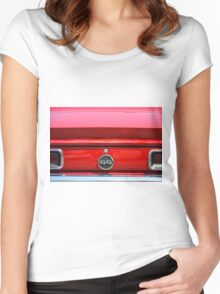 1968 Chevrolet Camaro SS Convertible Women's Fitted Scoop T-Shirt
