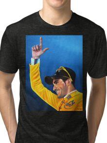 Alberto Contador painting Tri-blend T-Shirt