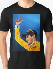 Alberto Contador painting Unisex T-Shirt