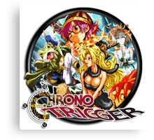 Chrono Trigger Logo Canvas Print