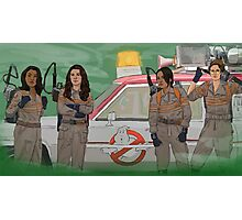 Person of Interest Ghostbusters AU Photographic Print