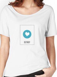 I Love Detroit Women's Relaxed Fit T-Shirt