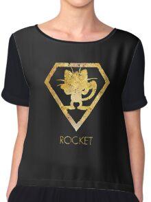 Pokemon GO Team Rocket Chiffon Top