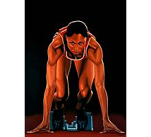 Allyson Felix painting Photographic Print
