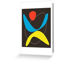 Le Dance Greeting Card