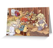 Crono Party Greeting Card