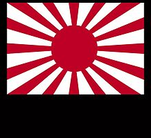 War flag of the Imperial Japanese Army by TOM HILL - Designer