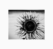 sunflower in black and white Unisex T-Shirt