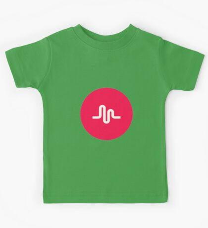 Musical.ly symbol music.ly musically Kids Tee