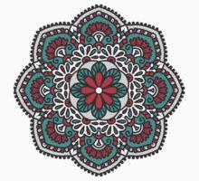 Mandala - Circle Ethnic Ornament Kids Tee
