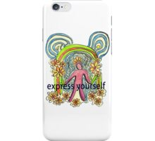 Express Yourself  Art iPhone Case/Skin