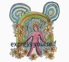 Express Yourself  Art One Piece - Short Sleeve