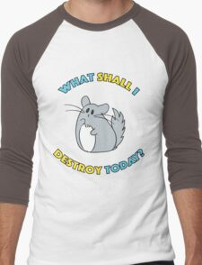 Chinchilla The Destroyer Men's Baseball ¾ T-Shirt