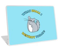 Chinchilla The Destroyer Laptop Skin