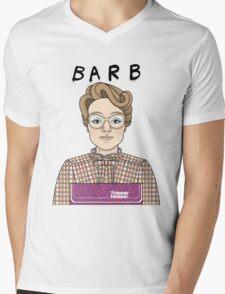 Barb Mens V-Neck T-Shirt