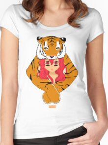 Tiger Girl Women's Fitted Scoop T-Shirt