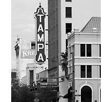 Tampa Kress sign Photographic Print